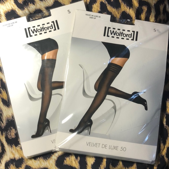a0fcd62840071 Wolford Accessories | Velvet De Luxe 50 Stayup Size Small 2 | Poshmark